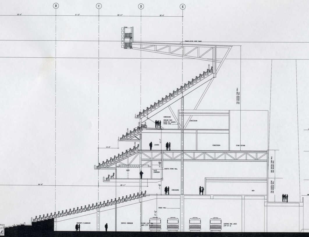 Yankee Stadium Sketch At Paintingvalley