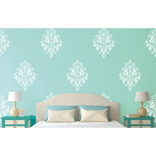 Rich Tapestry Asian Paints Wall Fashion Stencil