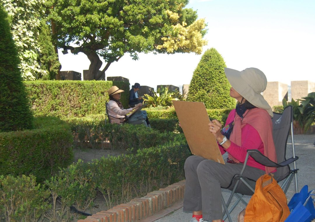 www.paintonholiday.com plein air art workshop vacations