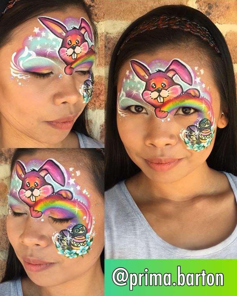Easter Bunny Face Makeup Saubhaya Makeup