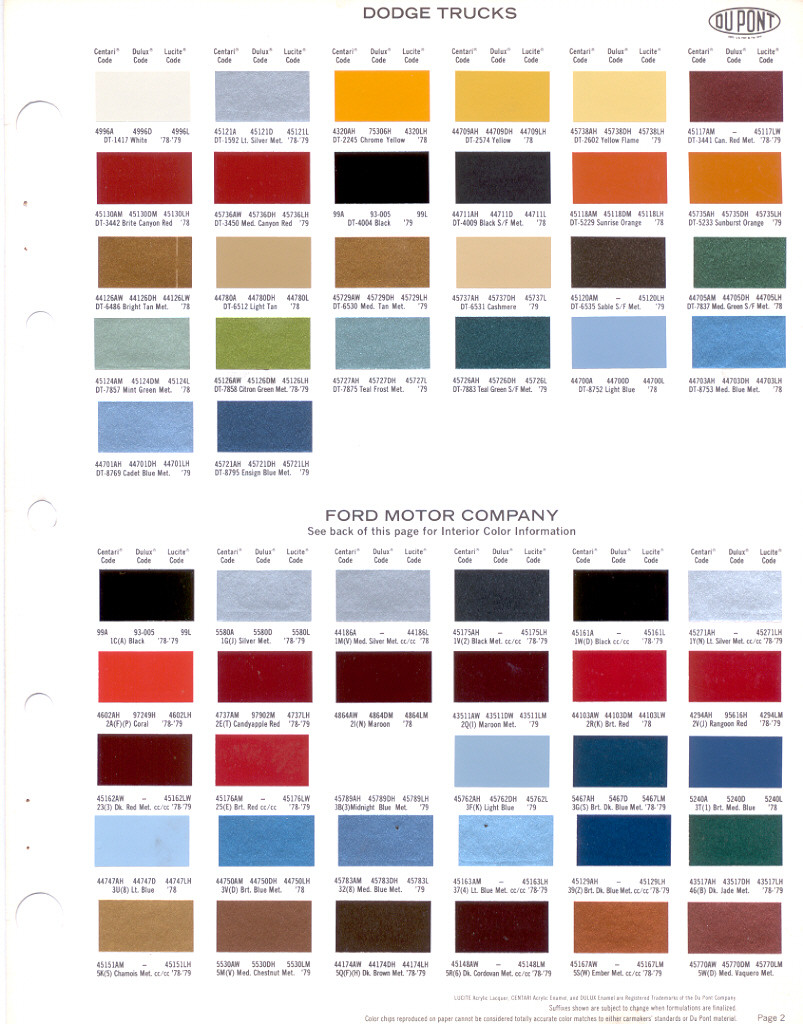 Dupont car paint color chart gallery free any chart examples dupont car paint color chart image collections free any chart nason automotive paint color chart choice nvjuhfo Images