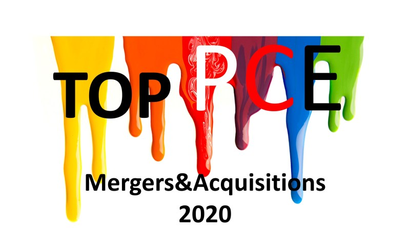 Top Mergers and Acquisitions in Paints and Coatings Industry in 2020