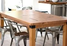 membuat sendiri meja dapur di rumah