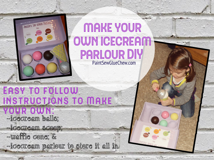 Ice Cream Parlour Play set DIY
