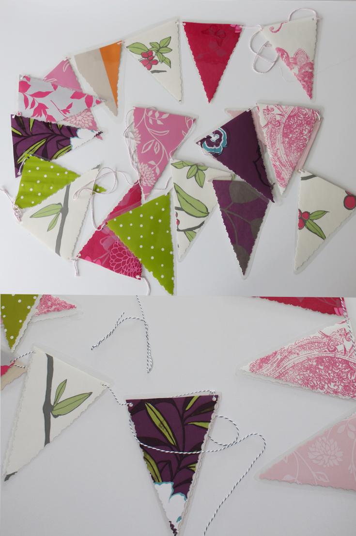 Pretty Outdoor Weatherproof Bunting Diy Paintsewgluechew