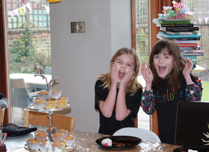Sophisticated Cake Decorating Party