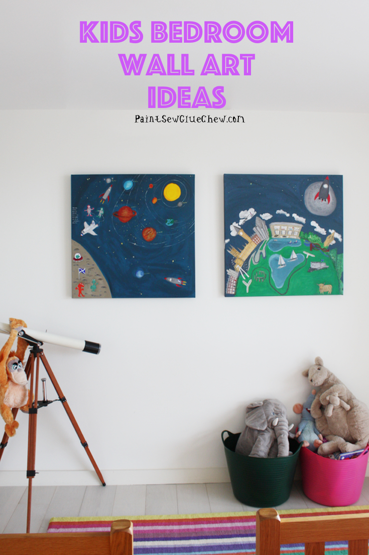 Kids Wall Art Idea
