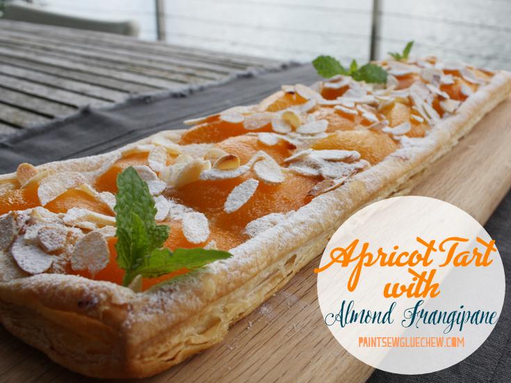 Apricot Tart with Almond Frangipane