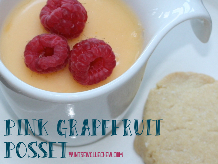 Grapefruit Posset