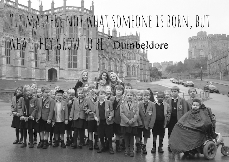 """"""" It matters not what someone is born, but what they grow to be"""" Dumbledore"""