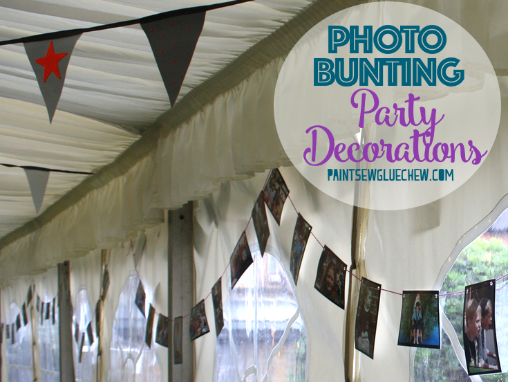 Photo Bunting: Party Decorations