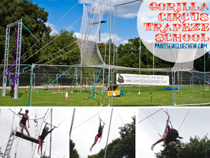 Gorilla Circus Flying Trapeze School
