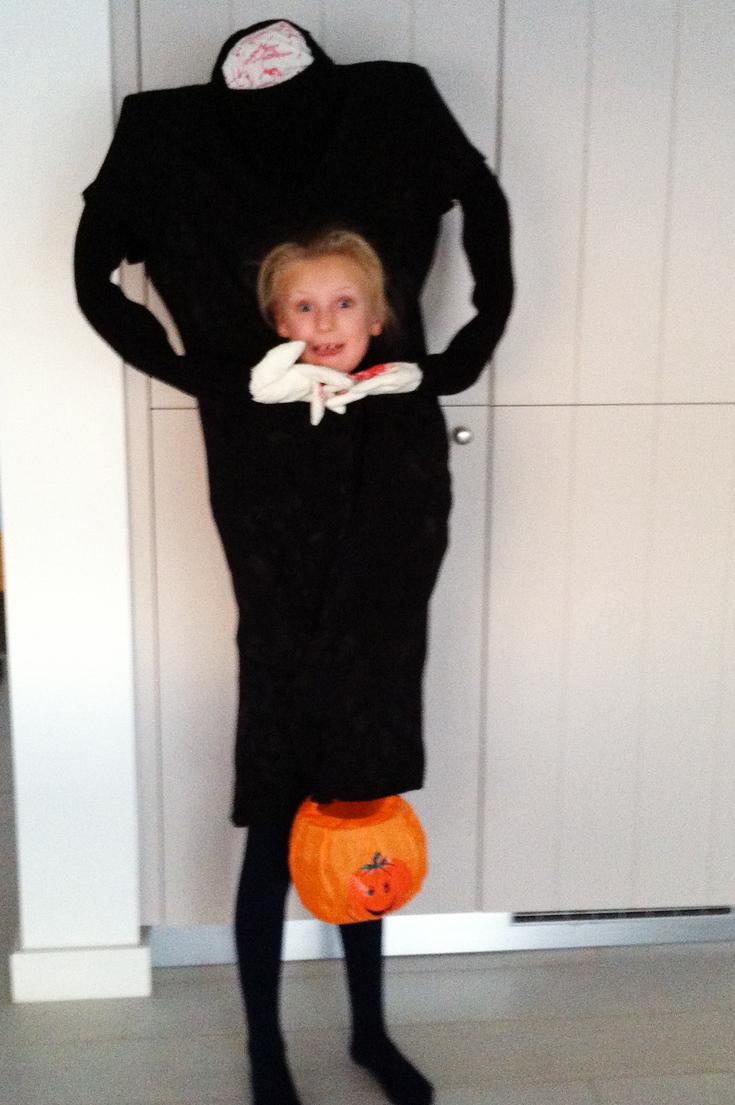 Headless halloween costume - PaintSewGlueChew