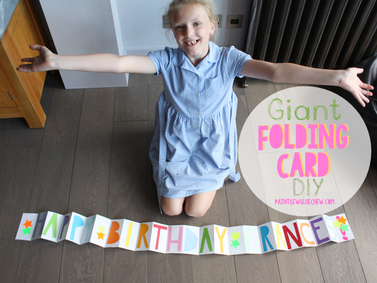 DIY Giant Card