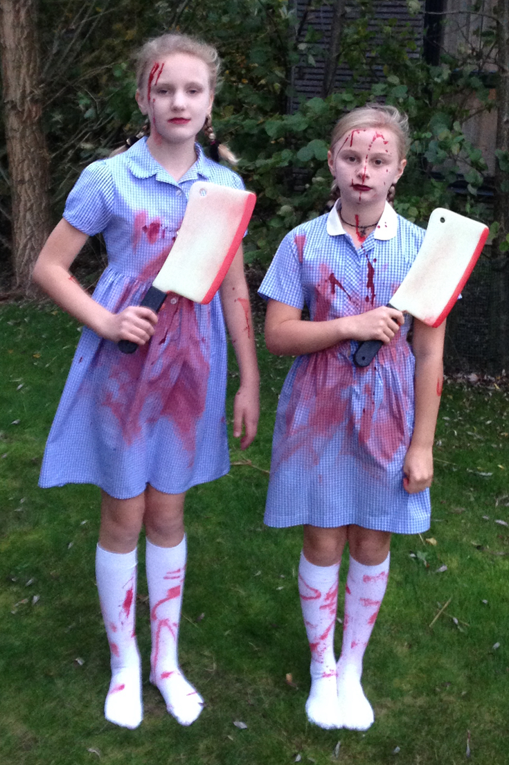 Creepy Twins Halloween Costume