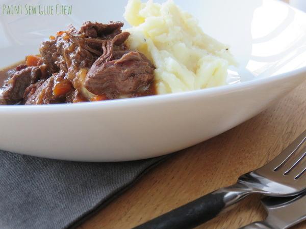 Comfort food cooking - Beef bourguignon