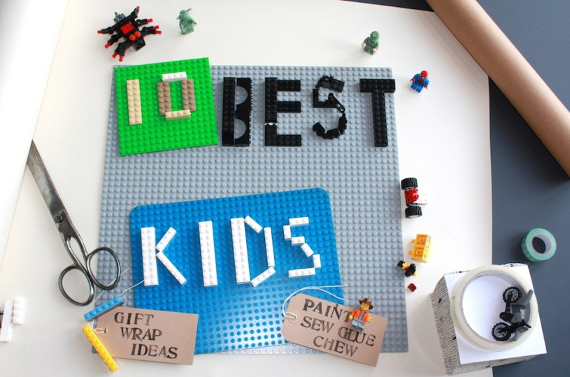 Kids gift wrap ideas