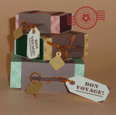Bon Voyage Gift wrap ideas