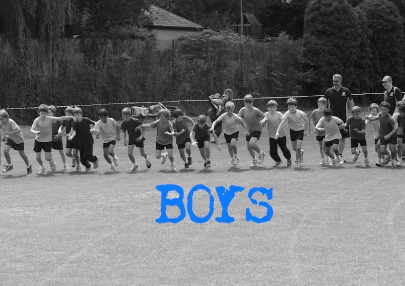 A4 B&W Boys Loo