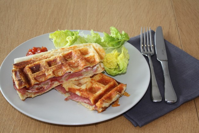 waffle toaster sandwiches