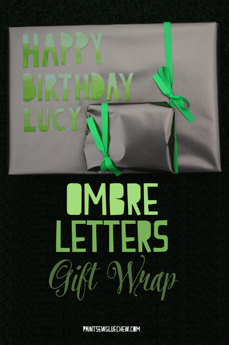 Ombre Gift Tags