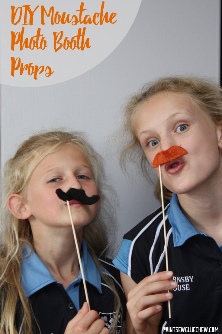 Easy DIY Moustache Photo Booth Props