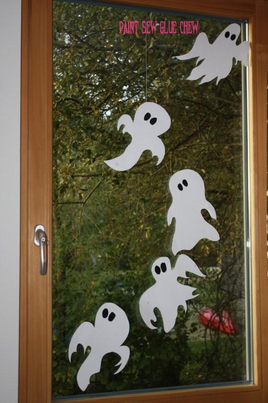 Halloween ghosts diy