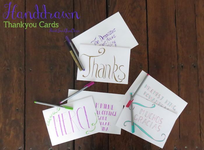 Thank you letter ideas