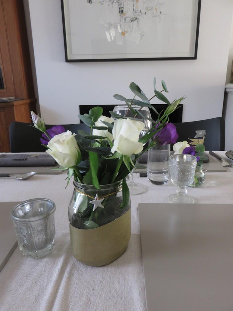 Jam Jar Vases