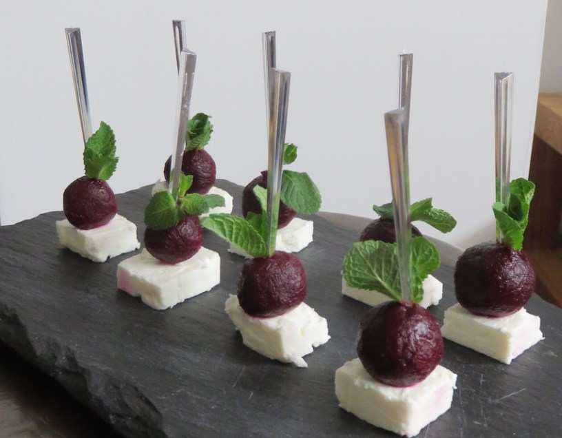 fancy canape ideas