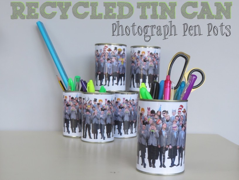 recycled pen pots