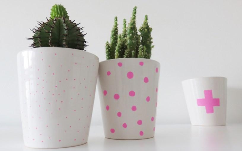 Chalk Marker Vases