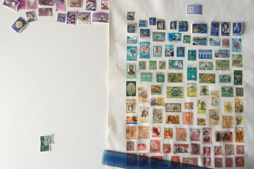 Rainbow stamp artwork 8