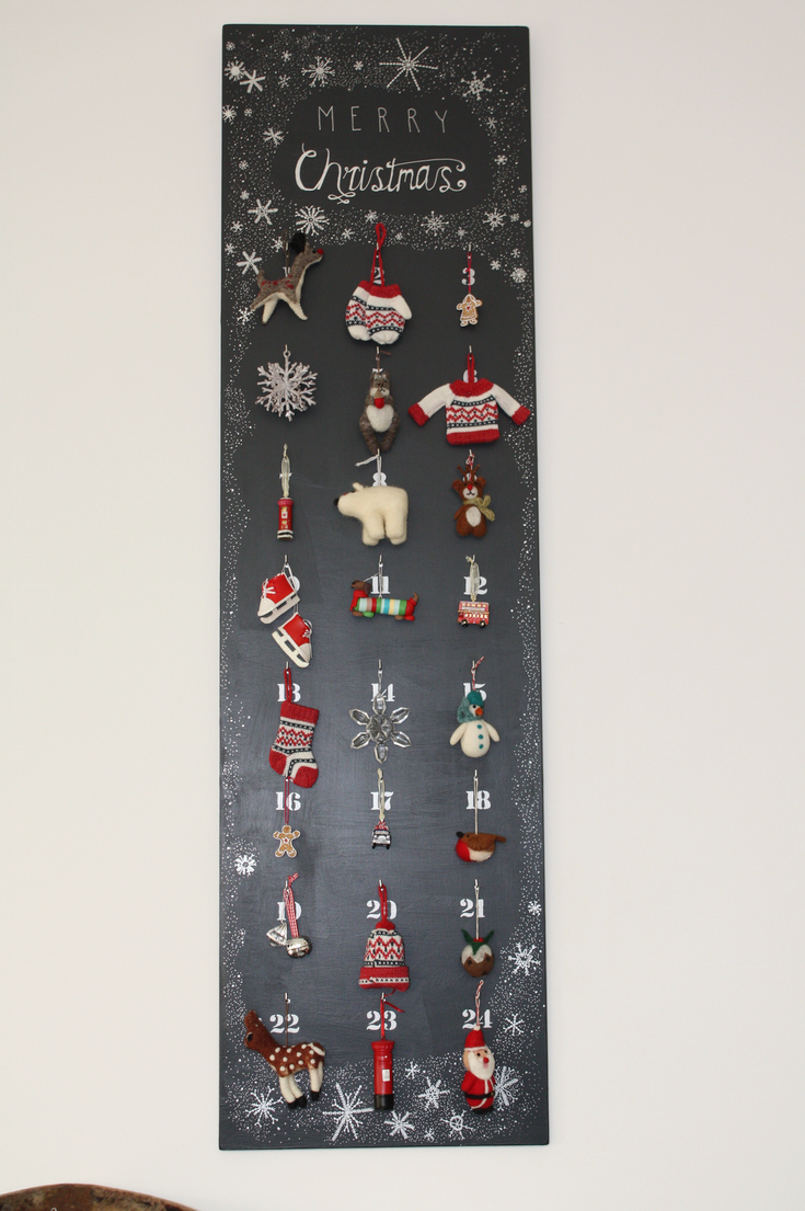 Diy Reusable Advent Calendar Paintsewgluechew