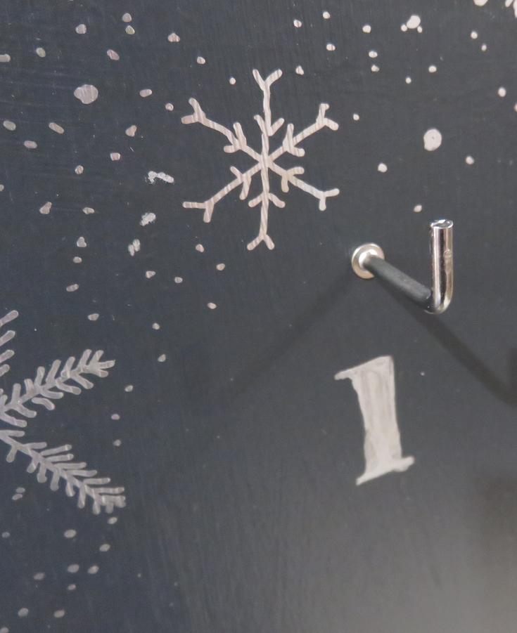 DIY reusable advent calendar
