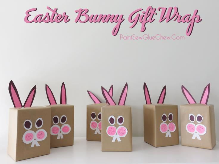 Bunny Gift Wrap