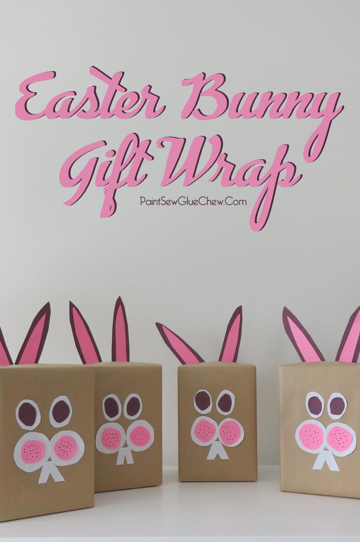 Easter Bunny Gift Wrap