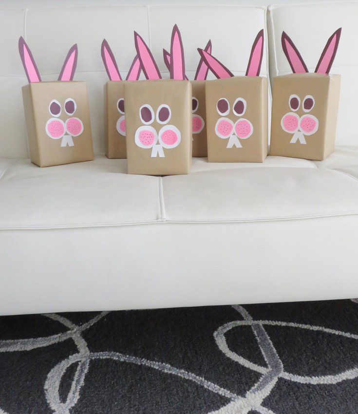 Easter Bunny Gift Wrap