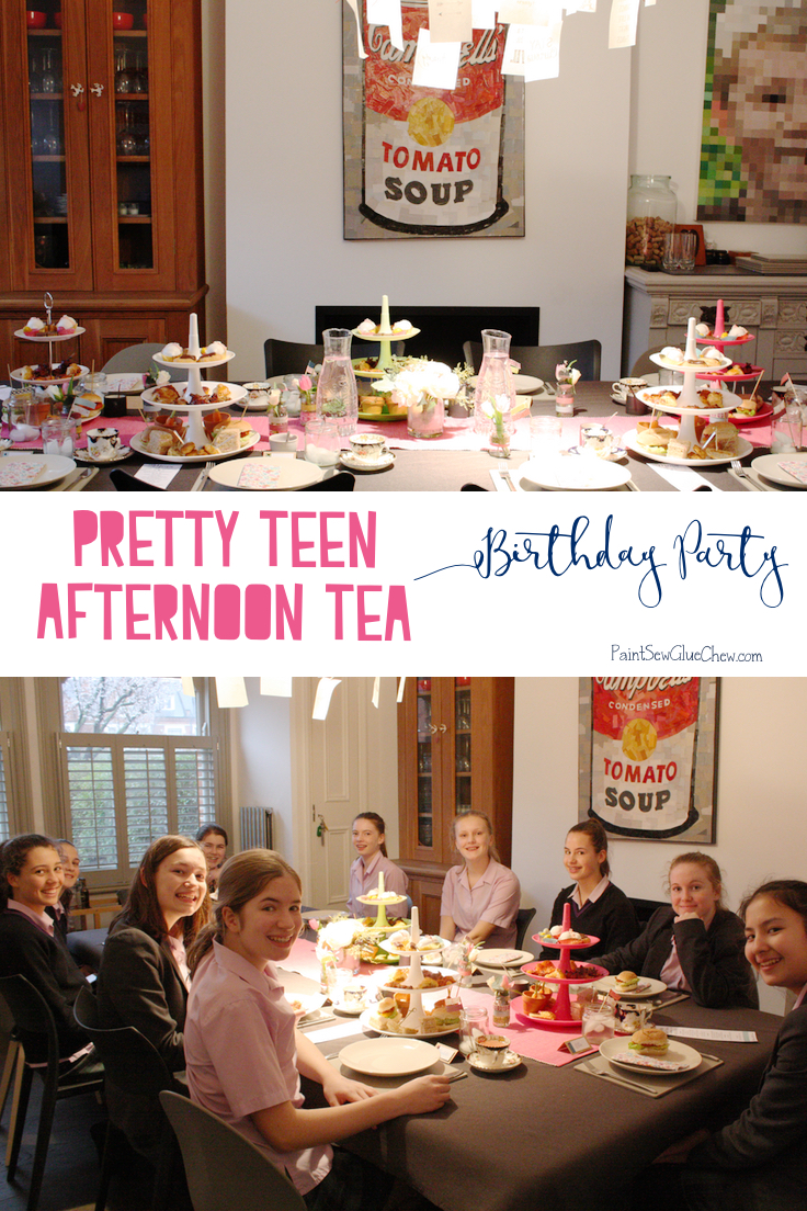 teen afternoon tea party