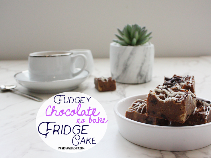 No Bake Chocolate Fridge Cake