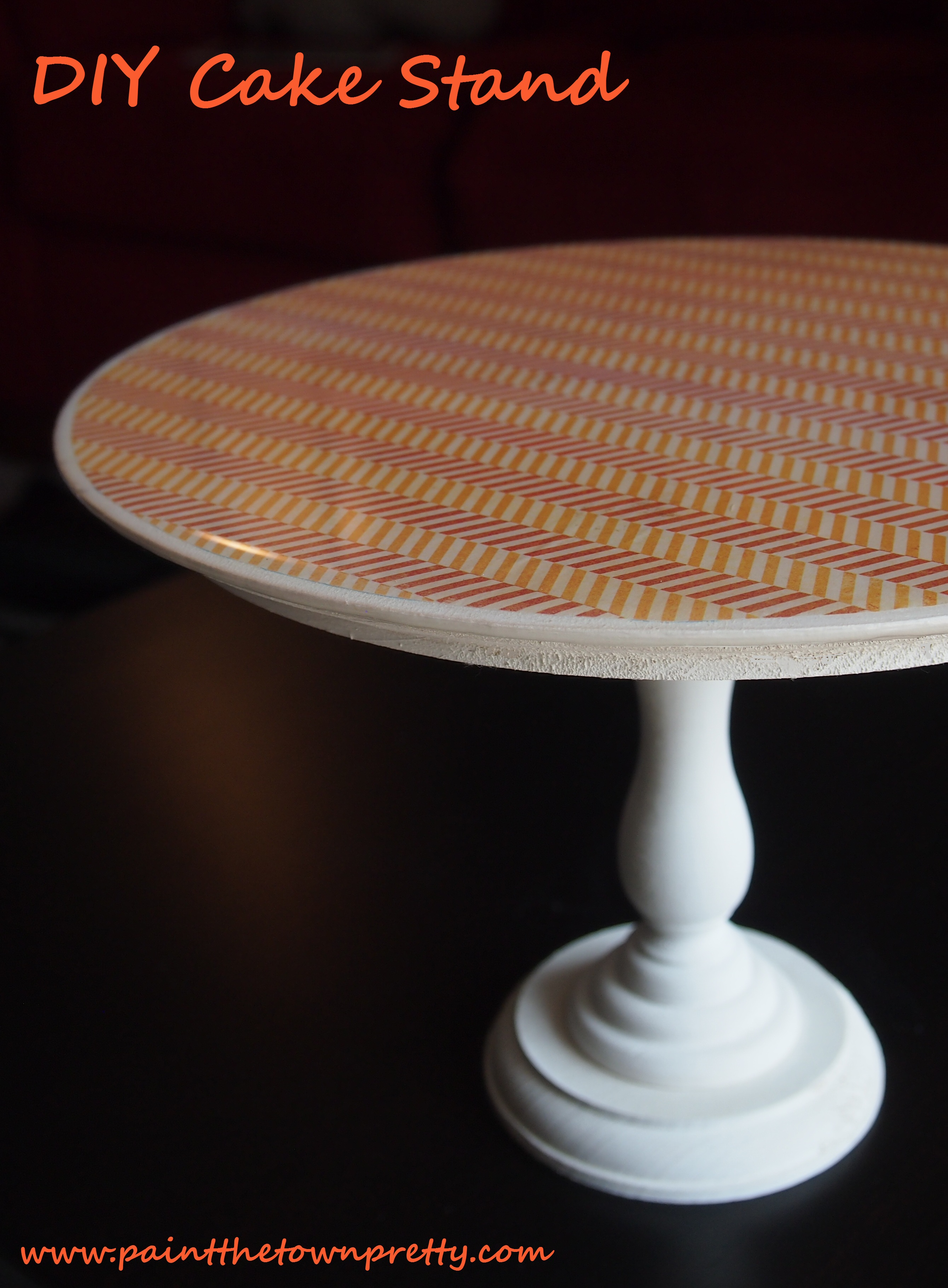 DIY Epoxy Cake Stands Paint The Town Pretty