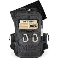 Active Doodie Dad Diaper bag in black