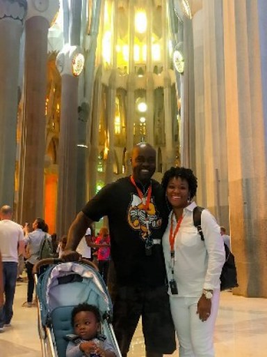 Paint The World With You at Sagrada Familia in Barcelona.
