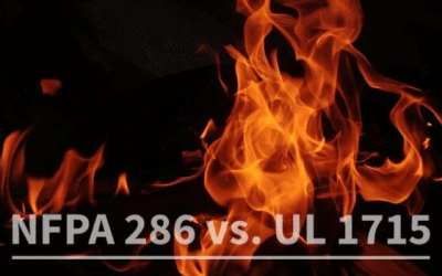 NFPA 286 and UL 1715: What's The Difference?