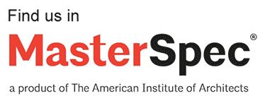 Find us at MasterSpec