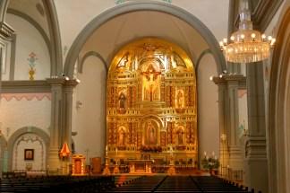 Mission Basilica back altar