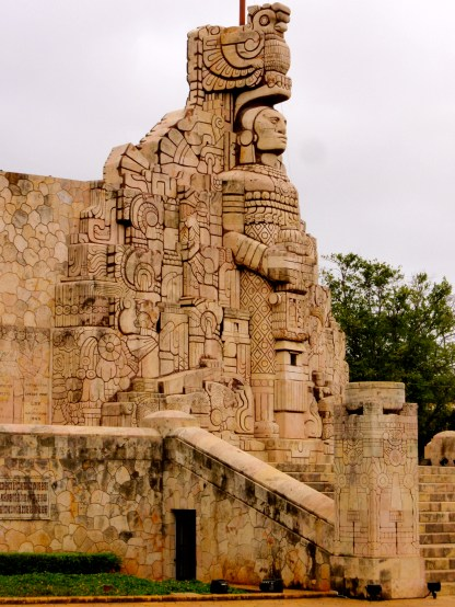 Tribute to history of Mexican people ~ Merida