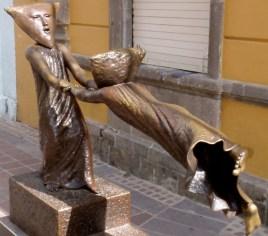 Sergio Bustamonte bronze ~ Tlaquepaque