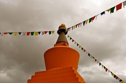 Stupa's crown