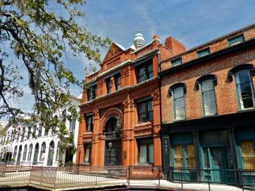 The old Cotton Exchange on Factors Walk